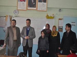 Özgür-Der ve Islah-Der'den Suriye Okuluna Yardım Ziyareti