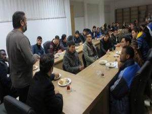 İHH & İLKE-DER Misafir Öğrencilerle Tanışma Toplantısı Yaptı