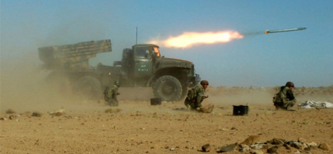 Esed Rejimine Ait Birçok 'Karargah' Yok Edildi