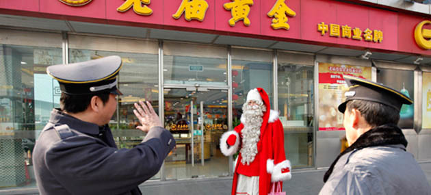 Çin'de 'Batı Adeti' Diye Noel Kutlamalarına Yasak