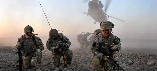 Kunduz Saldırılarına NATO Birlikleri Destek Veriyor