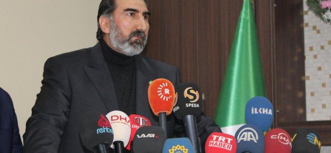 HÜDA PAR'dan PKK Saldırılarıyla İlgili Açıklama