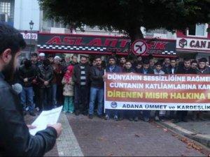 Adanalı Gençler Mursi İçin Sabah Namazında Toplandı