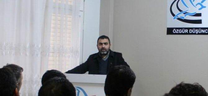 """Adana Özgür-Der'de """"İslami Mücadele Fıkhı"""" İşlendi"""