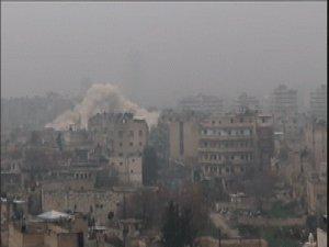 Halep'te Şam Cephesinden Rejime Ağır Darbe (VİDEO)