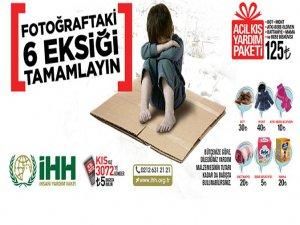 """İHH'dan Yeni """"Kış Kampanyası"""""""