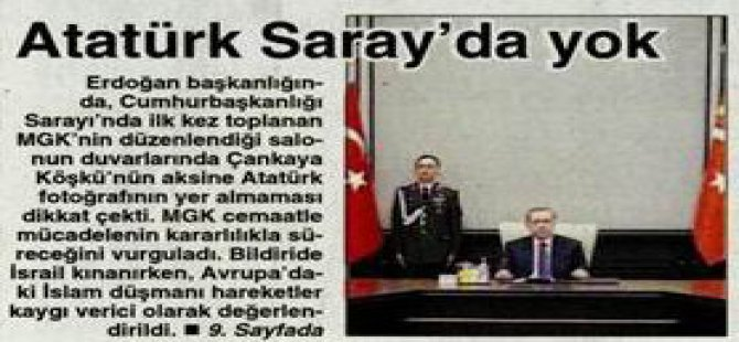 Cumhuriyet Gazetesi: İlla O Resim Olacak!