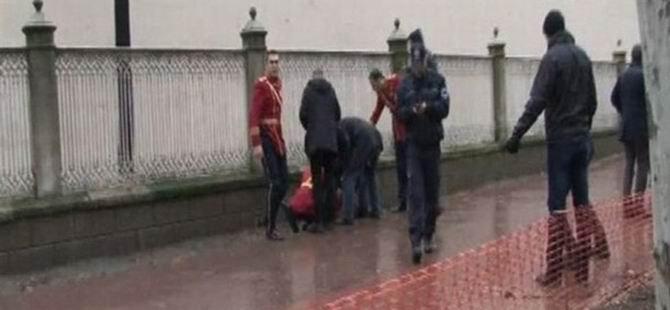 Dolmabahçe Sarayı'na Saldırı Girişimi