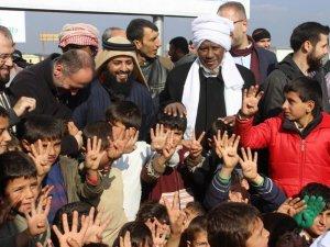 İHH'dan Suriye'de Bin 50 Konteynerlik Yeni Kamp
