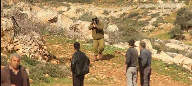 İşgal Güçleri Nablus'ta 3 Filistinli Genci Yaraladı