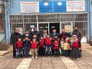 Radyo Selam Dinleyicilerinden Suriye Okuluna Destek Ziyareti