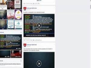 CHP, Tapeleri Facebook Sayfasına Koydu