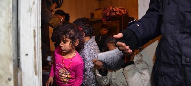 Ankara'da Suriyeli Sığınmacılara Gece Baskını