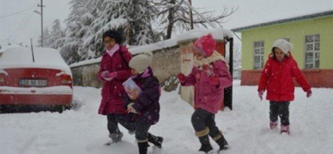 9 İlde Eğitime Kar Engeli