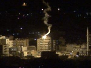 Cizre'de Polis Aracına Roketatarlı Saldırı