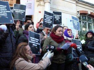 SYKP'den Hebdo'ya Destek Eylemi