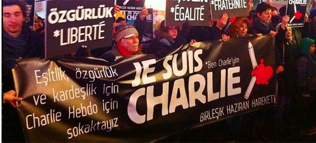 Yaşa(ma)sın Charlieler! (ŞİİR)