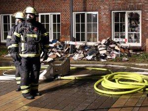 Almanya'da Gazete Binası Kundaklandı