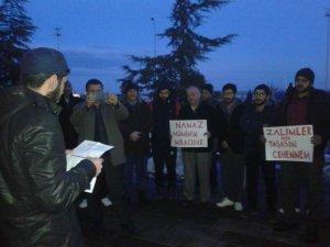 Giresun'da Doğu Türkistan İçin Eller 'Dua'ya Kalktı