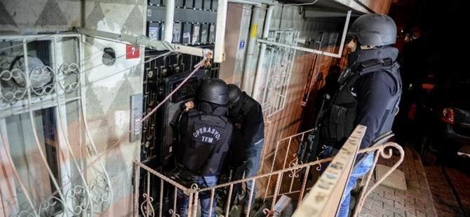 İstanbul'da Eşzamanlı Operasyon