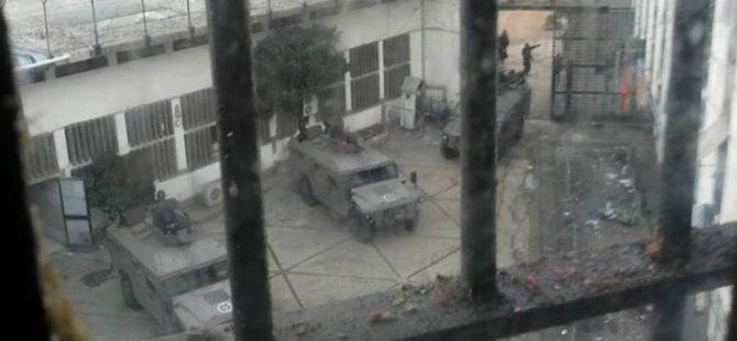 Lübnan'da Hapishane Operasyonu