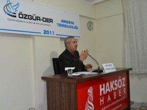 """Amasya'da """"Sahabe'nin Yetişme Tarzı"""" Semineri"""