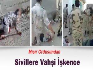 Mısır'da Cunta Askerlerin Sivillere Yönelik İşkence Görüntüleri