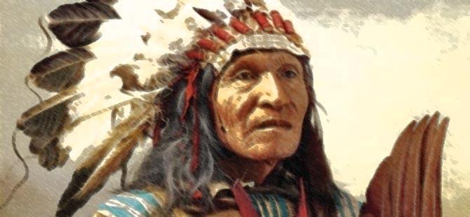 """Kızılderililerin Dilinden: """"Bir Gün İnsanlık…"""""""