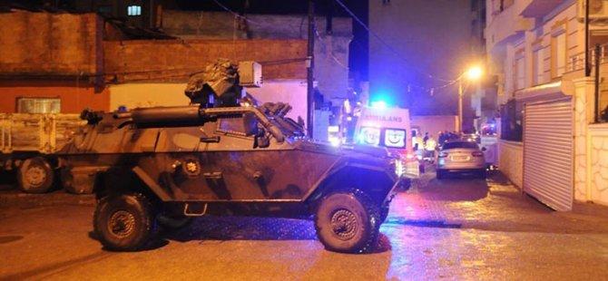 Cizre'de Bir Eve El Bombası Atıldı