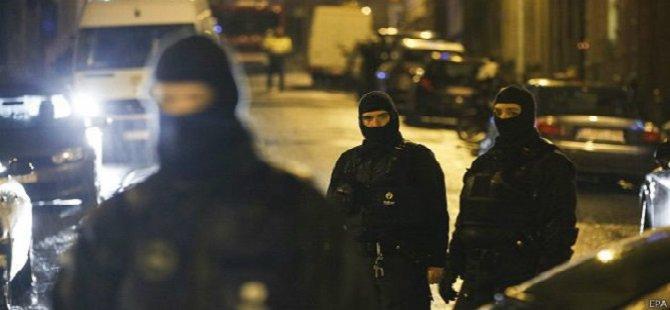 Belçika'da 15 Kişi Gözaltına Alındı