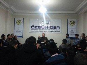 """Van'da """"İslami Mücadelede Gerekli Nitelikler"""" Semineri"""
