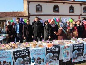 Taşova'da Suriyeli Yetimler Yararına Kermes Düzenlendi