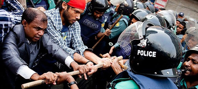 Bangladeş'te Kanlı Gösteri: 25 Ölü
