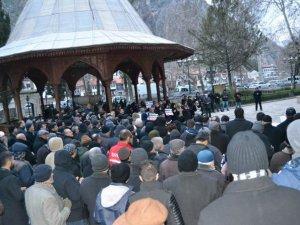 İğrenç Karikatürler Amasya'da Protesto Edildi