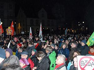 Almanya'da PEGIDA Protesto Edildi