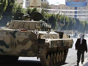Yemen'de Başkanlık Sarayı Husilerde