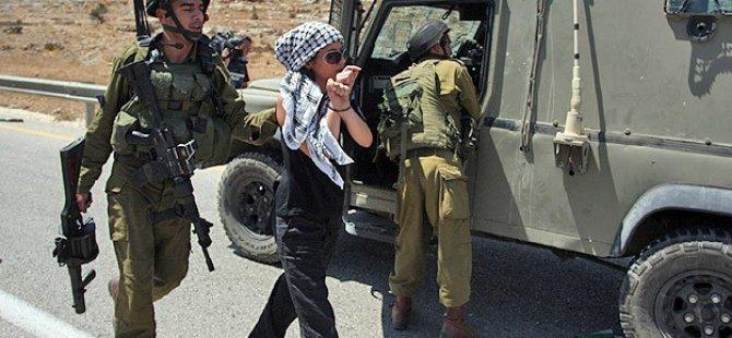 İsrail'den Filistinli Kız Çocuğuna Hapis