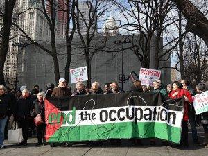 New York Belediyesine İsrail Gezisi Protestosu