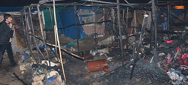 Kilis'te Çadır Yandı; 2 Suriyeli Yanarak Öldü