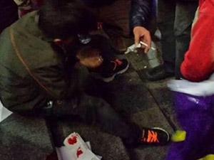 Burger King'de Suriyeli Çocuğa Dayak