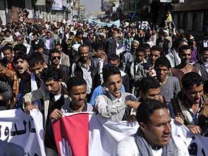 Yemen'de Karşılıklı Gösteriler Düzenlendi