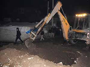 Cizre'deki Hendekler Yeniden Kapatılıyor