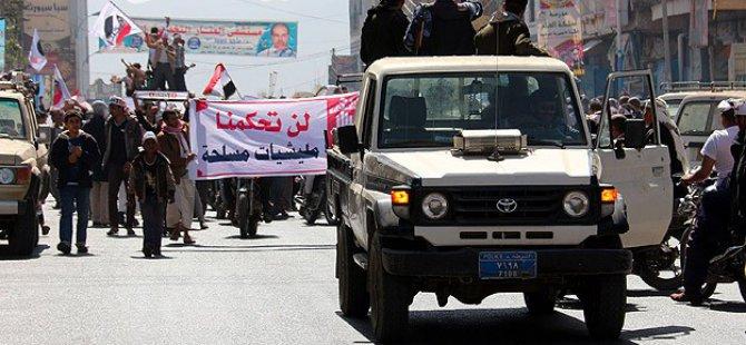 Yemen'de Husi Karşıtı Gösteriler Engelleniyor