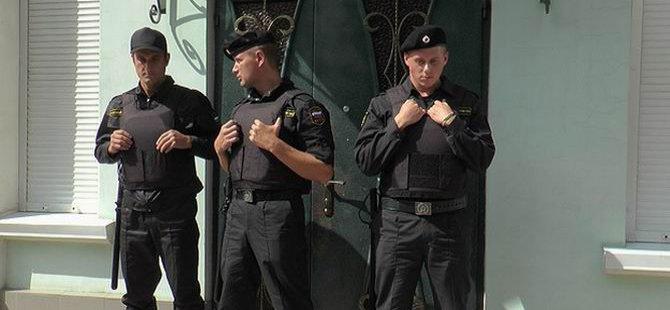 Rus Polisi Kırım Tatar Televizyon Kanalına Baskın Düzenledi
