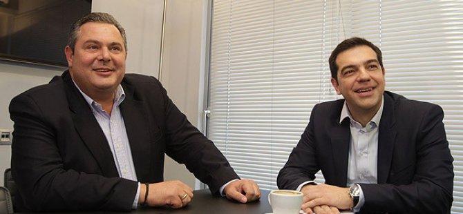 Syriza Koalisyonda ANEL ile Anlaştı