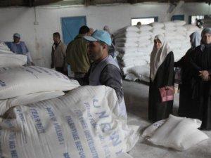 UNRWA Gazze'ye Yardımı Durdurdu