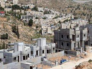 """Siyonist İsrail Filistin'e """"Yerleşmeye"""" Devam Ediyor"""