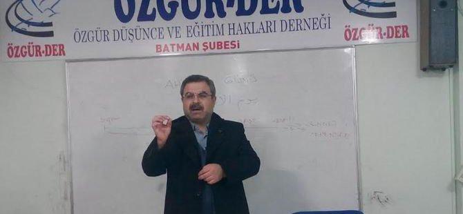 """Batman Özgür-Der'de """"Gelecek Güne Hazırlığımız"""" Semineri"""