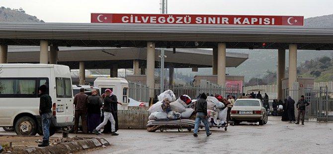 Cilvegözü Sınır Kapısı'ndan Geçişler Durduruldu