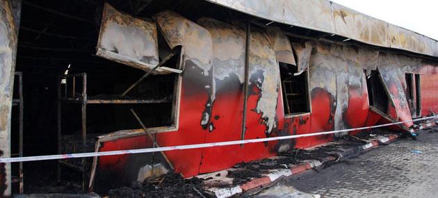 Mersin'de Yangın: 3 İşçi Öldü